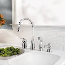 Kitchen Faucet With Side Spray Kitchen Faucets Wayfair