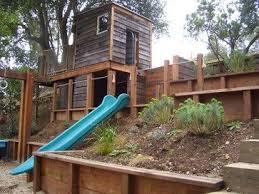 Steep Sloped Backyard Ideas Best 25 Sloped Backyard Ideas On Pinterest Sloped Backyard