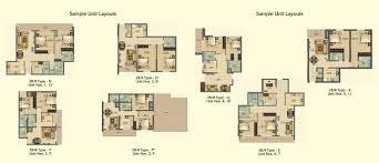 oakwood residence floor plans business bay