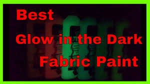 glow in paint best glow in the fabric paint tulip dimensional glow in the