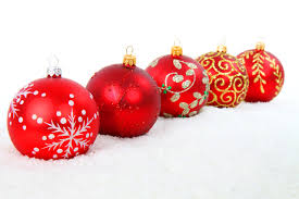 red christmas balls free stock photo public domain pictures