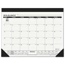 desk planner template calendars planners costco at a glance 2018 monthly calendar 22