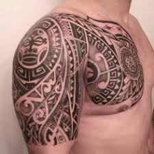 15 tribal shoulder tattoo designs that will completely stun you