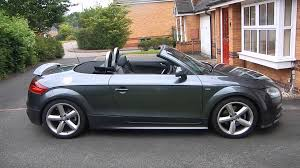 2012 audi tt convertible audi tt cabriolet convertible 8j roof operation with remote