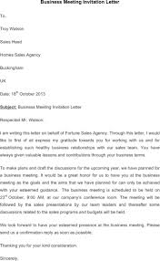 Business Invitation Letter Format For Meeting hr invitation letter templates download free u0026 premium templates
