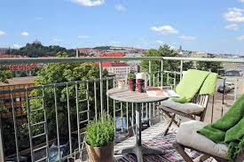 Great Terrace Designs Provide Comfort For Your Apartments - Apartment terrace design