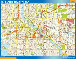Minneapolis Neighborhood Map Minneapolis Maps And Orientation Minneapolis Minnesota Mn Usa
