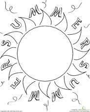 summer fun worksheets for kids printable printable pinterest