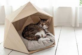 geometric pet beds to please your master u0027s sophisticated taste