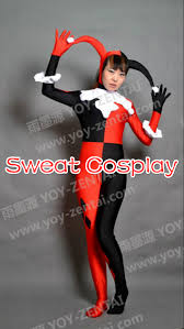 harley quinn costume women the joker cosplay batman