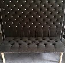 King Size Tufted Headboard Lovely Tufted Headboard With Crystal Buttons 52 On King Size Bed