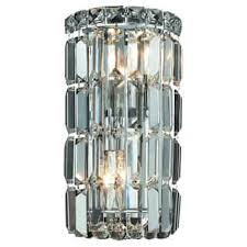 hton bay 2 light vanity fixture crystal wall lights for less overstock com