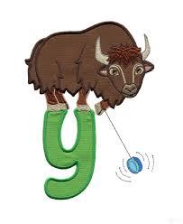 hoops and yoyo thanksgiving y yak and yo yo embroidery design
