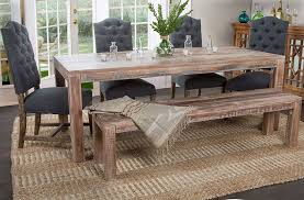 Morgan Library Dining Room Amazon Com Kosas Home Harbor Dining Table Hand Distressed In