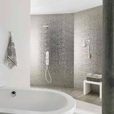 Madison Earp Bros Silver Tiles A Splashback Or Bathroom Feature - Silver bathroom