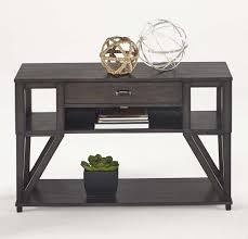 Oak Sofa Table Progressive Furniture Consort 4 Coffee Table Set In Midnight