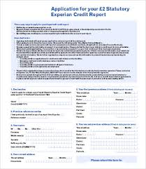 best free credit report template 9 free word pdf documents