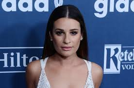 lea michele reveals u0027finn u0027 tattoo in photo shoot upi com