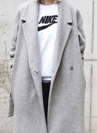 light grey wool coat 14 oversized grey coats for women to stay warm and look chic 2018