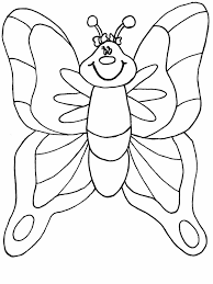 95 easy butterfly coloring pages for preschoolers simple