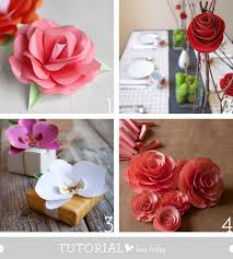 watercolor paper flower tutorial tutorial love friday papel flower roundup howjoyful a