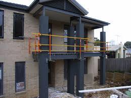 balcony fallguard roof guardrail u0026 edge protection from buildsafe