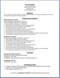 printable exles of resumes printable sle resume musiccityspiritsandcocktail