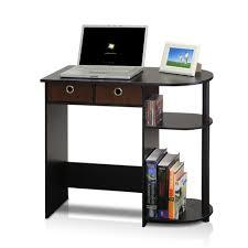 Espresso Corner Computer Desk by Llytech Inc Go Green Espresso Computer Desk With Bin Drawer
