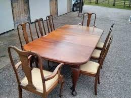 Mahogany Dining Room Table And 8 Chairs Oval Dining Tables For 8 Kgmcharters