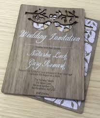 laser cut wood invitations laser cut wedding invitations u0026 stationery inspirwood