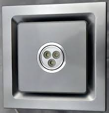 Bathroom Extractor Fan With Led Light Stainless Steel Bathroom Extractor Fan Freetemplate Club
