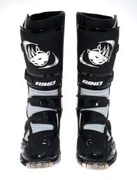 hinged motocross boots rino hero motocross boots black md racing products