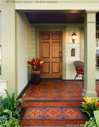 329 best stenciled u0026 painted floors images on pinterest royal