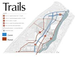 Riverwalk Map Trails U0026 Features