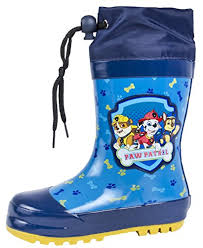 boots uk paw patrol wellington boots tie top rubber wellies size uk 5