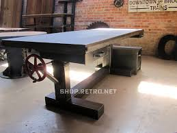 French Industrial Desk Desk Vintage Industrial Furniture