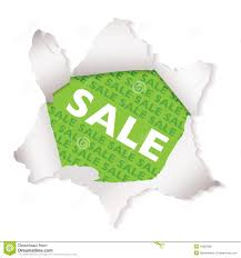 sale paper explode green royalty free stock image image 16892586