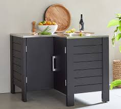 corner kitchen cabinet furniture malibu metal kitchen corner cabinet black pottery barn