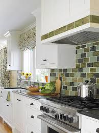green backsplash better homes gardens
