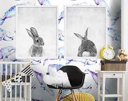 childrens wallpaper etsy