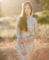 sequined wedding dress 20 gorgeous and glamourous metallic wedding dresses