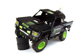lego land rover monster energy trophy truck gets reborn in lego and it u0027s amazing