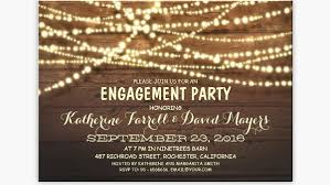 engagement party invites rustic party invitations we like design