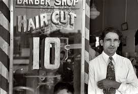 russell lee mexican barber san antonio texas 1939