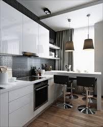 metal tile kitchen backsplash dark electric cooktop white glossy