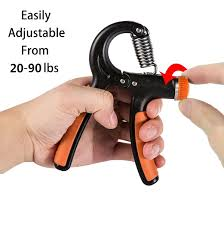 amazon com hand gripper fledo strengthener grip exerciser