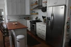 Painting The Kitchen Two Tone Cabinets Painting The Kitchen Island U2013 Nola Kim