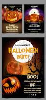 free 10 awesome halloween posters freebies psd