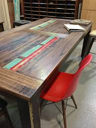 recycled timber table neel day furniture melbourne upcycled