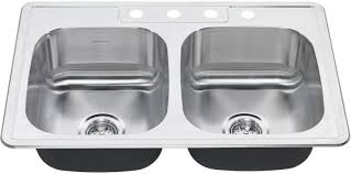 american standard kitchen sink faucets faucet com 22db 6332284s 075 in stainless steel by american standard